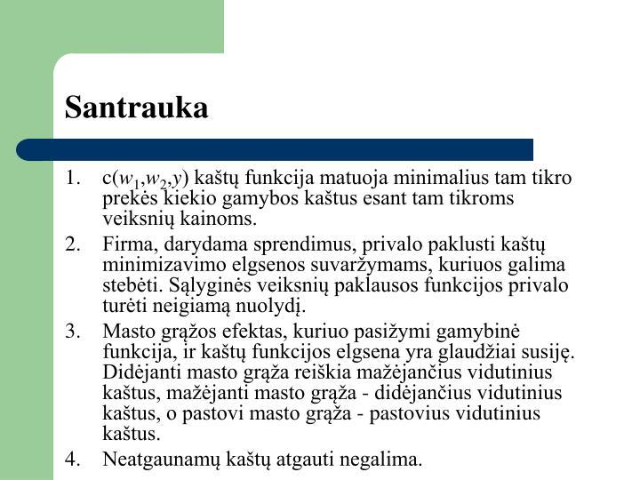Santrauka