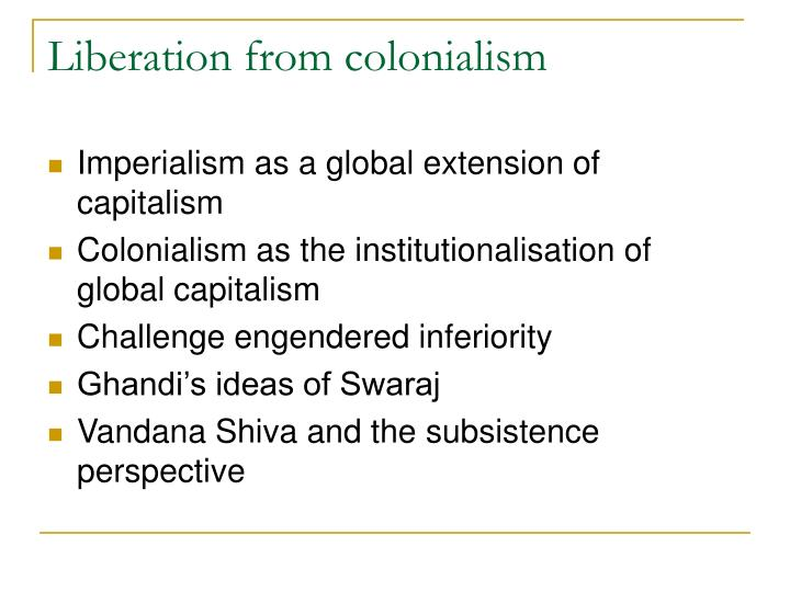 Liberation from colonialism