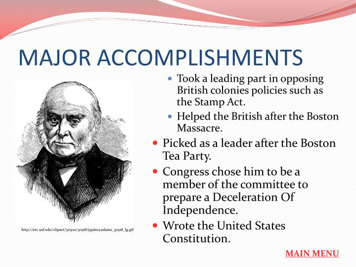 an evaluation of the major accomplishments of george washington George barker's life and accomplishments essay - george began as a soldier who became part of george washingtons by no means a major player in the.