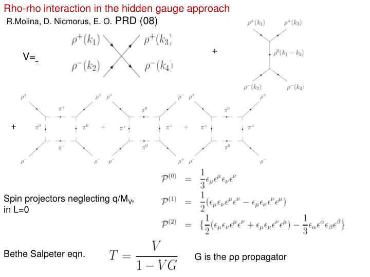 Rho-rho interaction in the hidden gauge approach