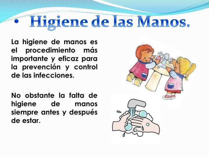 Higiene de las Manos.