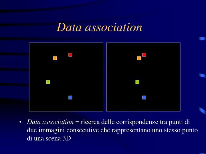 Data association
