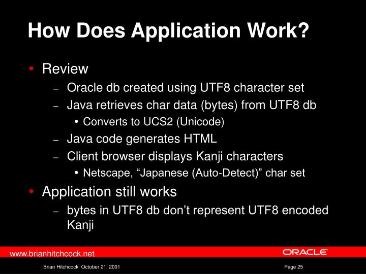 How Does Application Work?