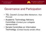 governance and participation