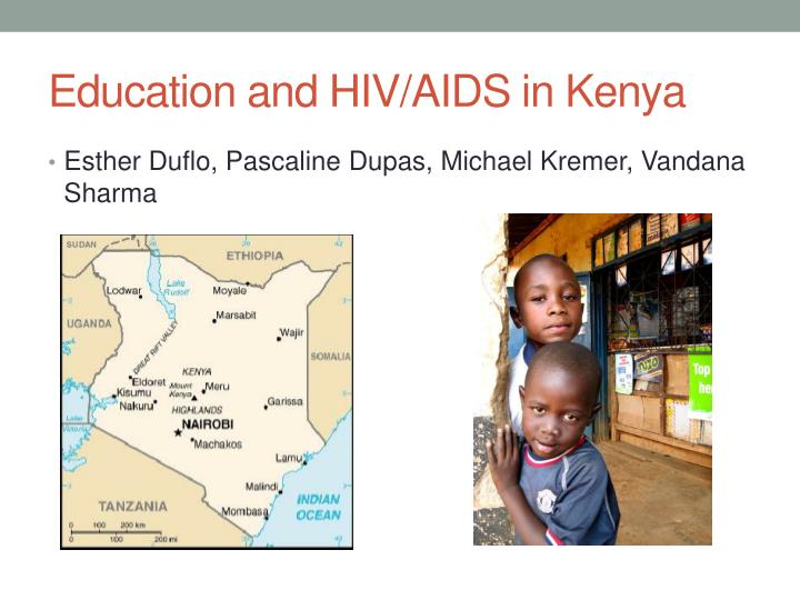 Education and HIV/AIDS in Kenya