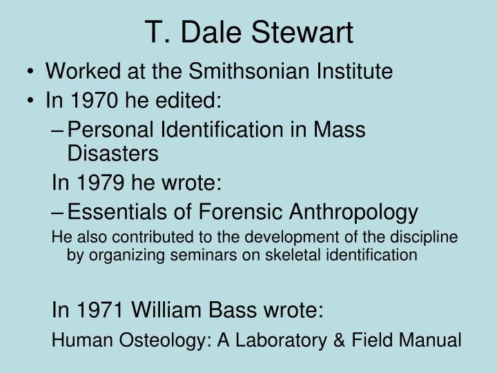 T. Dale Stewart