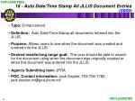 16 auto date time stamp all jllis document entries 6869