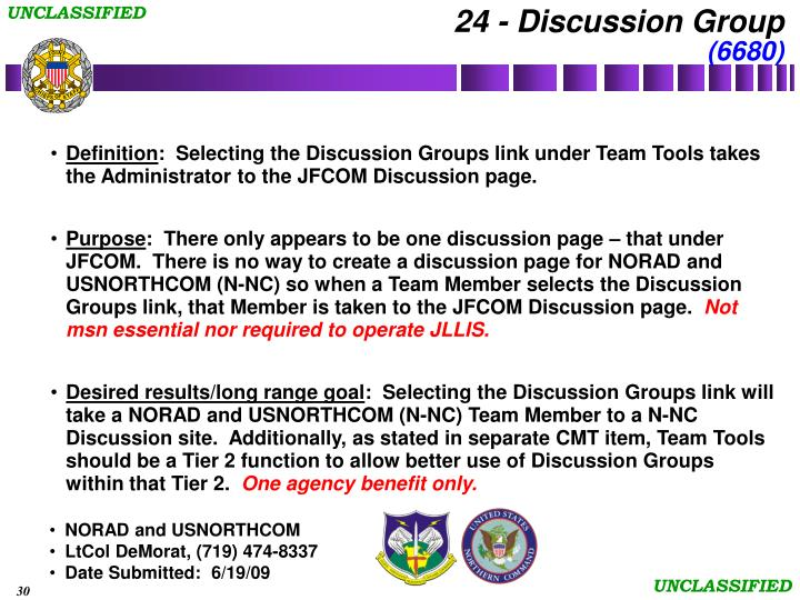 24 - Discussion Group