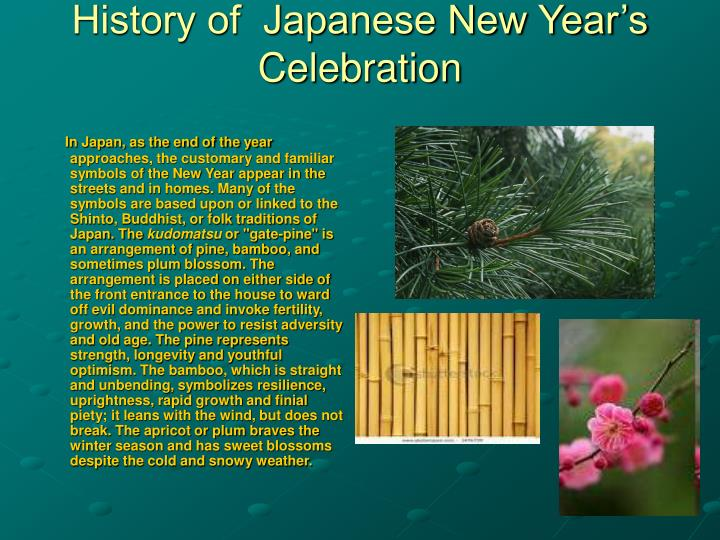 History of japanese new year s celebration