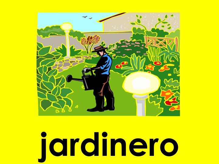 jardinero