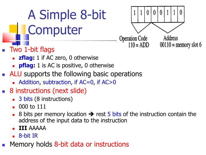 A Simple 8-bit