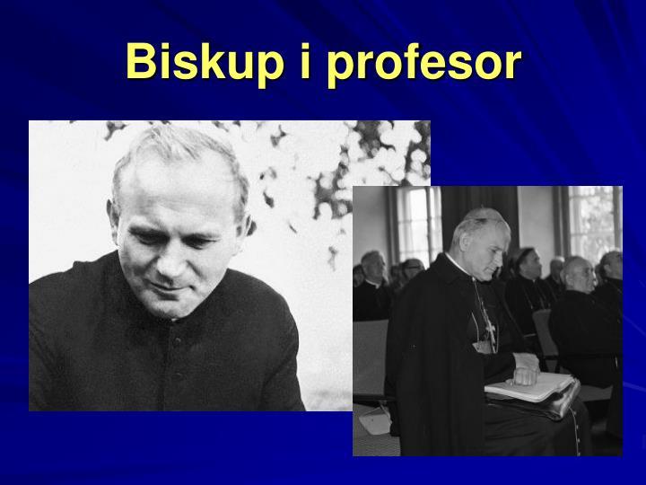 Biskup i profesor