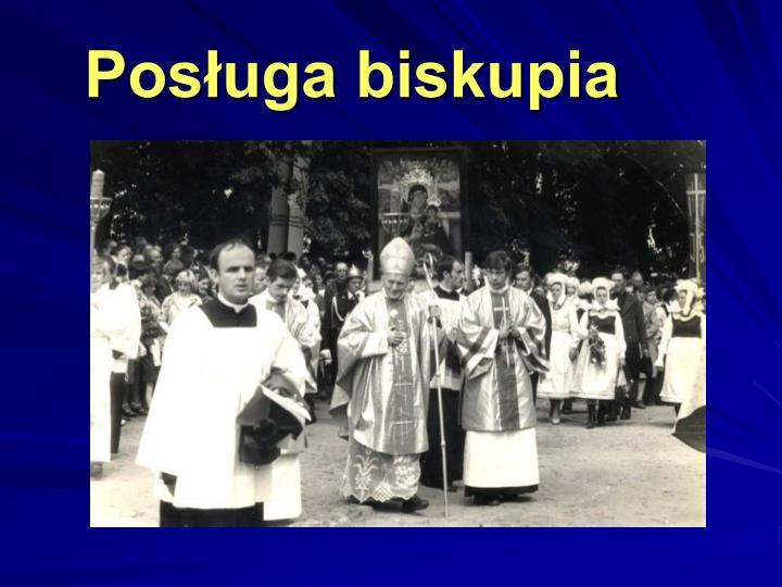 Posługa biskupia
