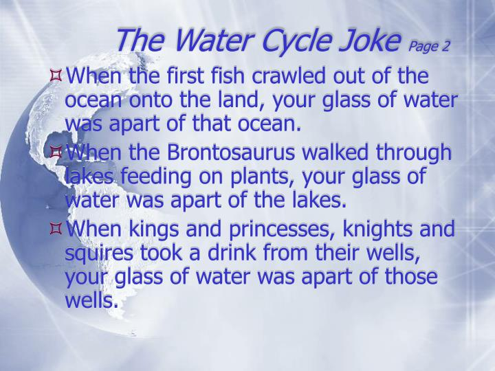 The Water Cycle Joke
