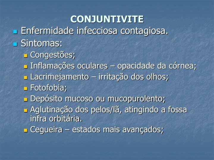 CONJUNTIVITE
