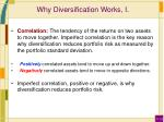 why diversification works i