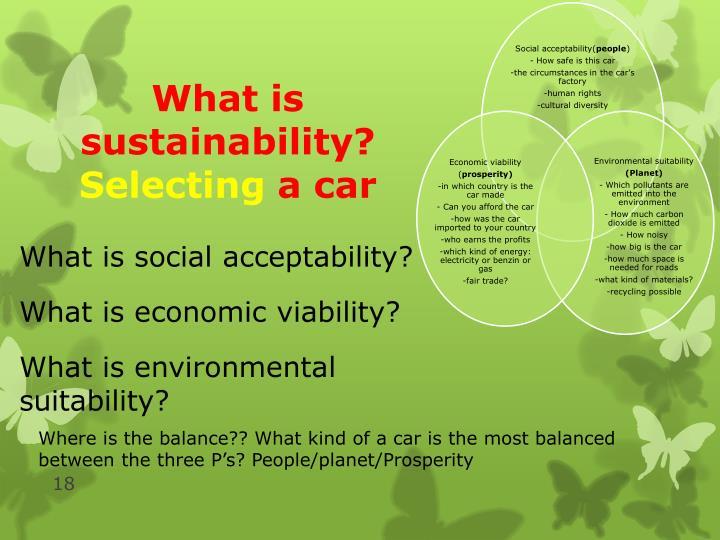 Social acceptability(