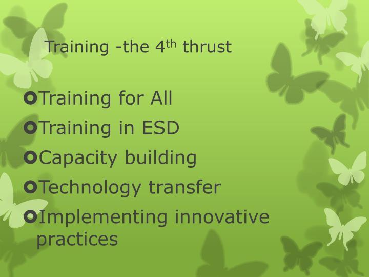Training -the 4