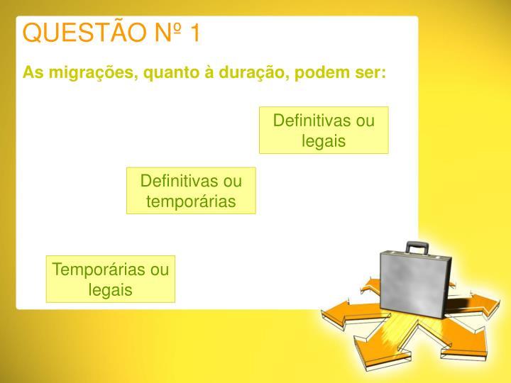 QUESTÃO Nº 1