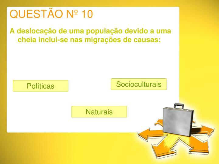 QUESTÃO Nº 10