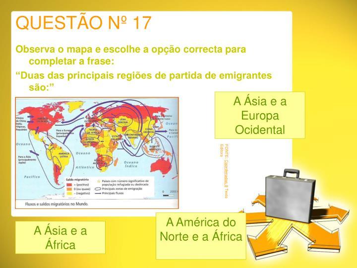 QUESTÃO Nº 17