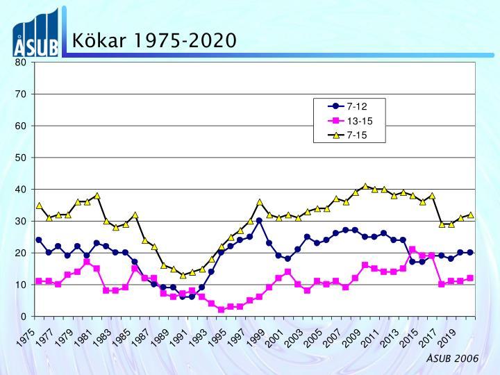 Kökar 1975-2020