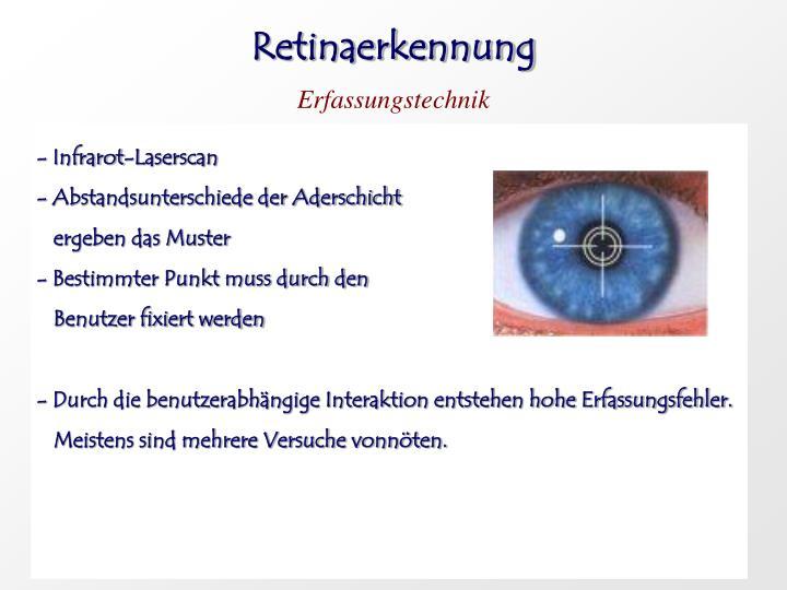 Retinaerkennung