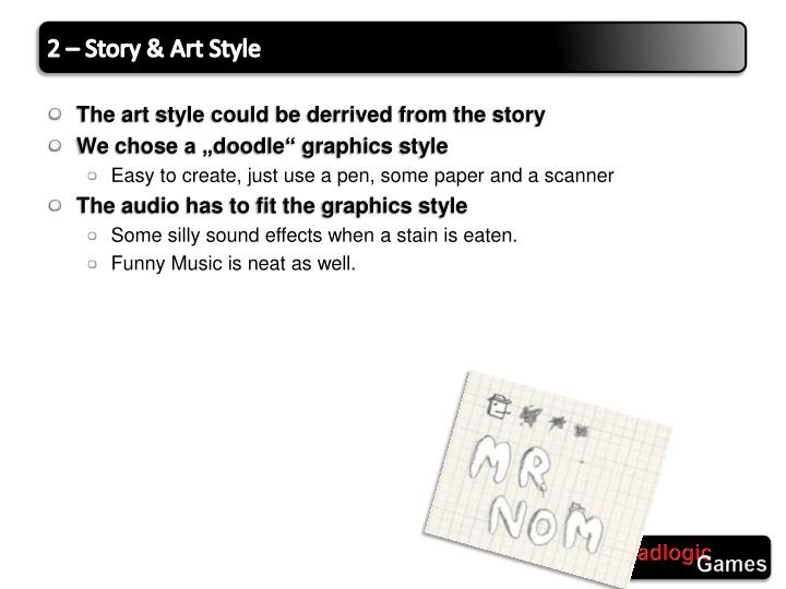 2 – Story & Art Style