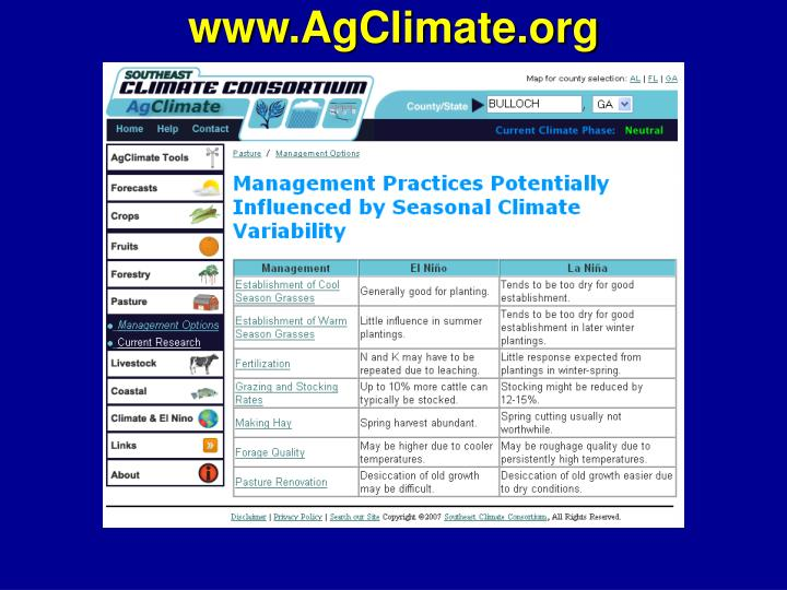 www.AgClimate.org