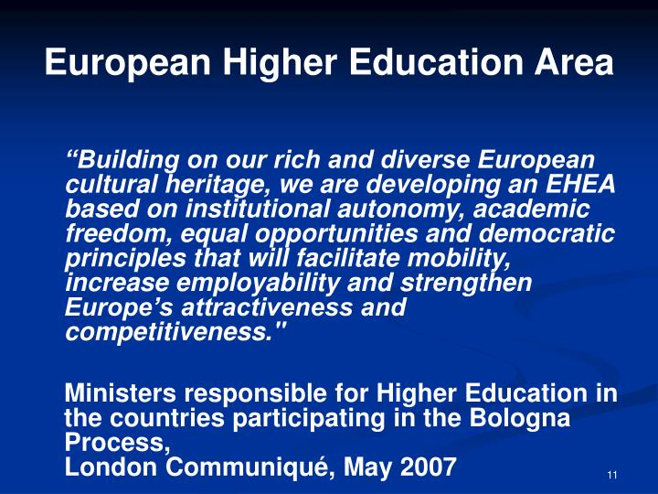 European Higher Education Area