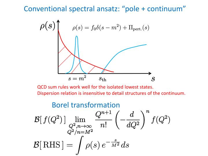 Conventional spectral