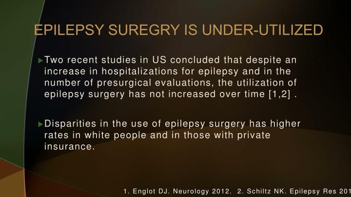 EPILEPSY SUREGRY IS