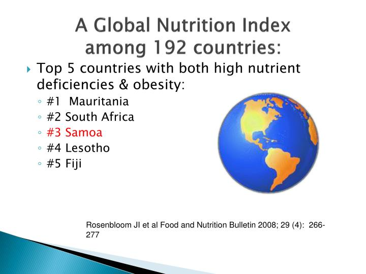 Top 5 countries with both high nutrient deficiencies & obesity: