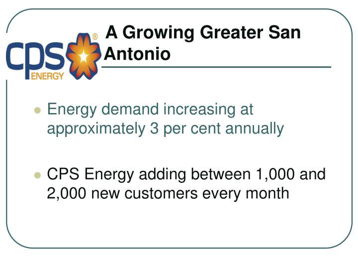 A Growing Greater San        Antonio