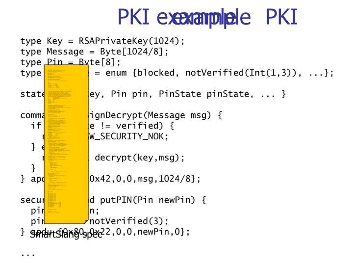 PKI example