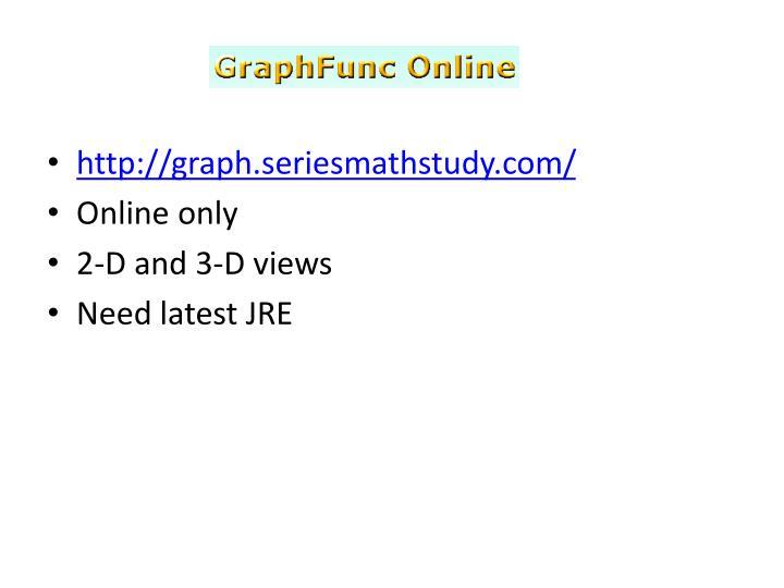 http://graph.seriesmathstudy.com/