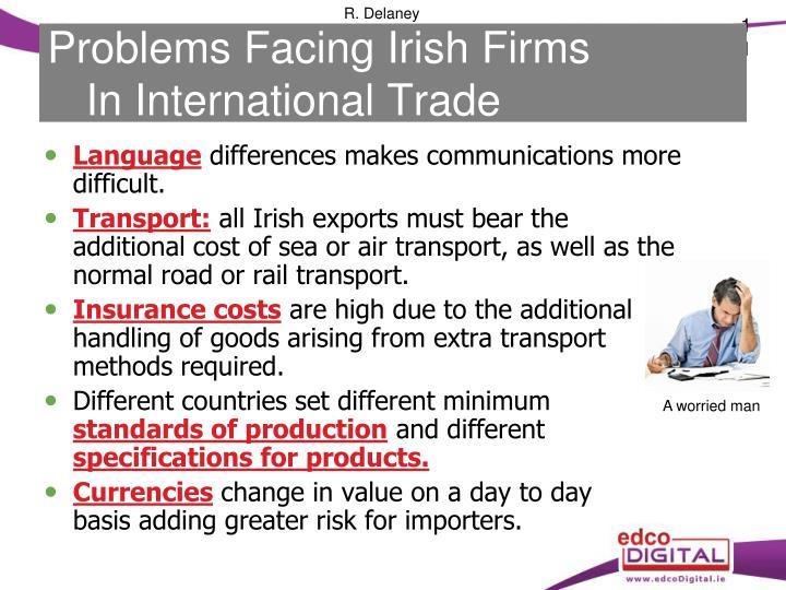 Problems Facing Irish Firms