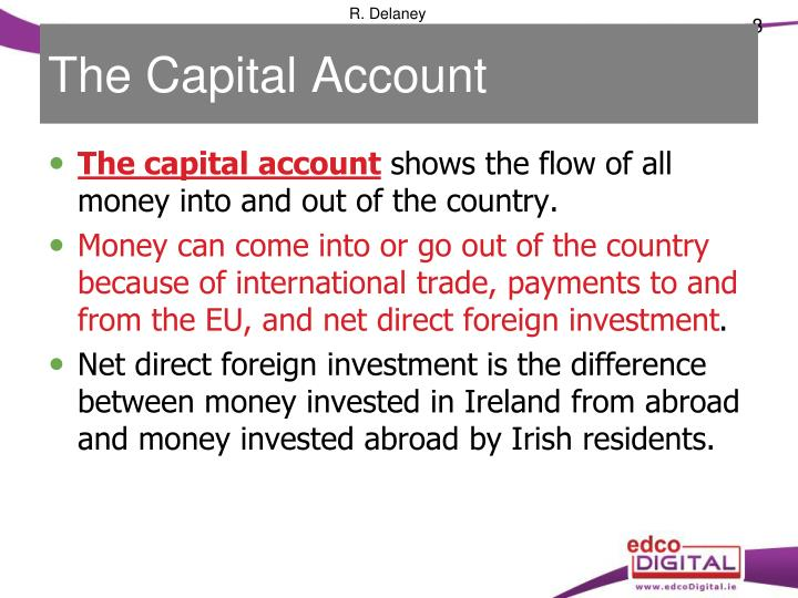 The Capital Account