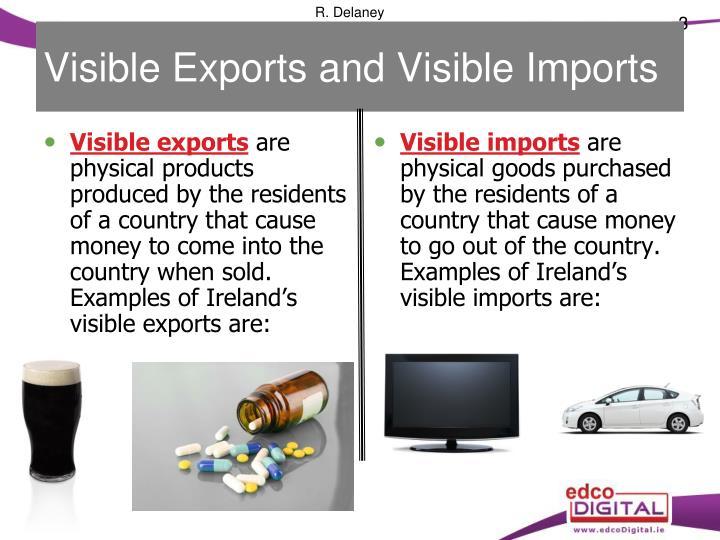 Visible Exports and Visible Imports