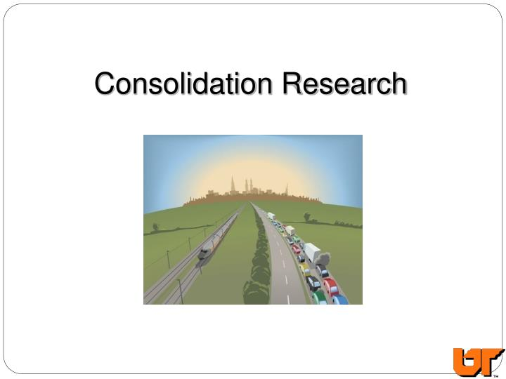 Consolidation Research
