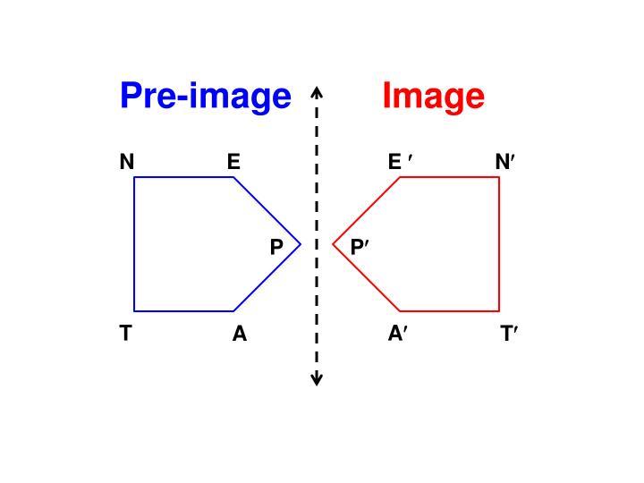 Pre-image