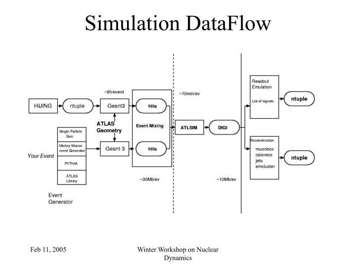 Simulation DataFlow