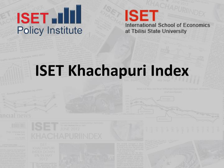 Iset khachapuri index
