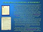 consilierul lui churchill i roosevelt