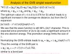 analysis of the gvb singlet wavefunction1
