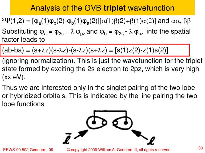 Analysis of the GVB