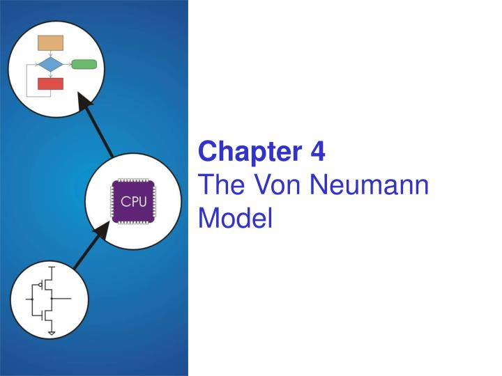 Chapter 4 the von neumann model