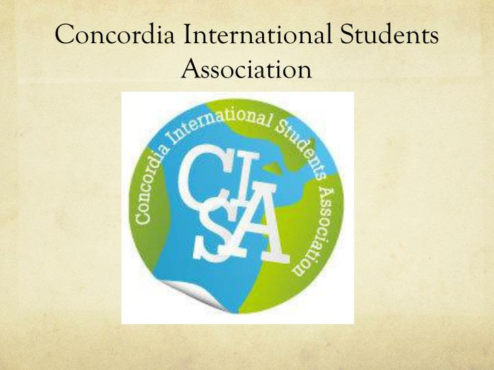 Concordia International Students Association