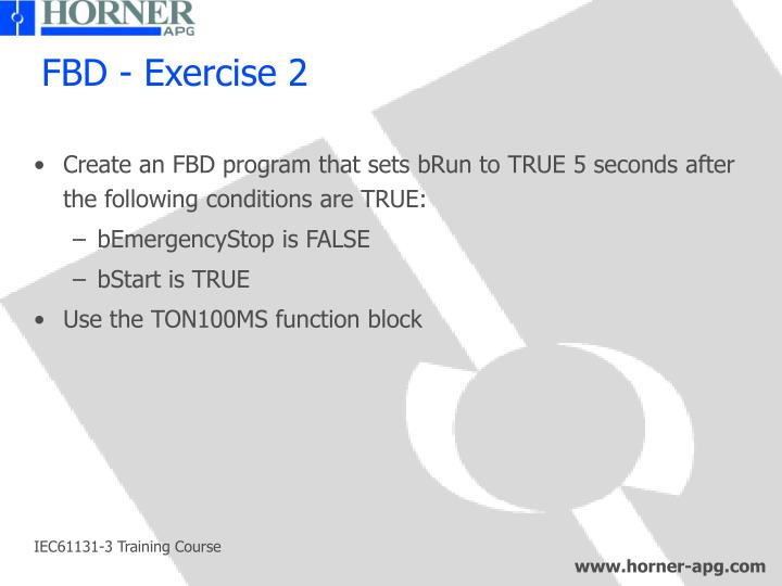 FBD - Exercise 2