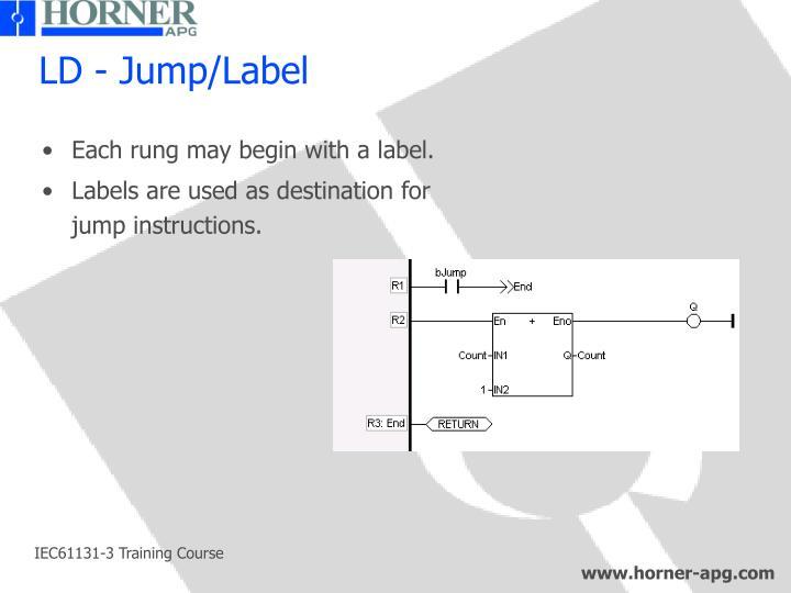 LD - Jump/Label